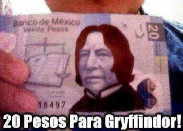 Pesos para Gryffindor