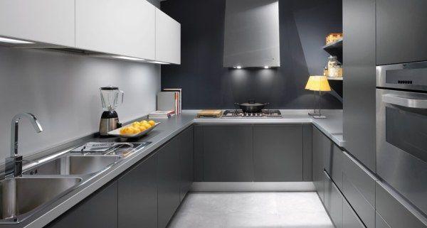 Make Your Life Colorful The Futuristic Silver Kitchen