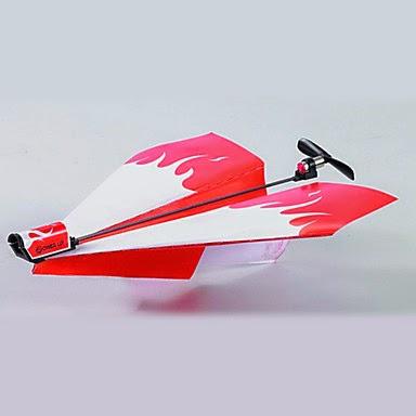 Avión de Papel con Motor