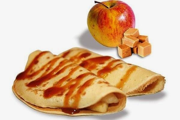 Panqueques de Manzanas