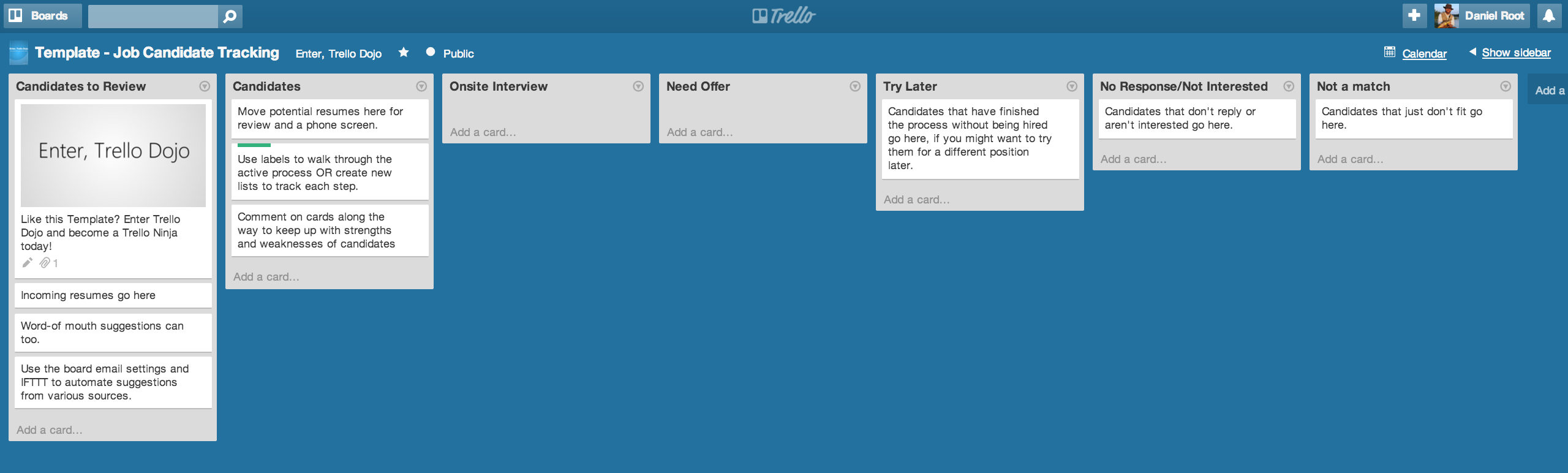 Daniel Root: Use Trello to Hire The Perfect Employee the PayPal Way
