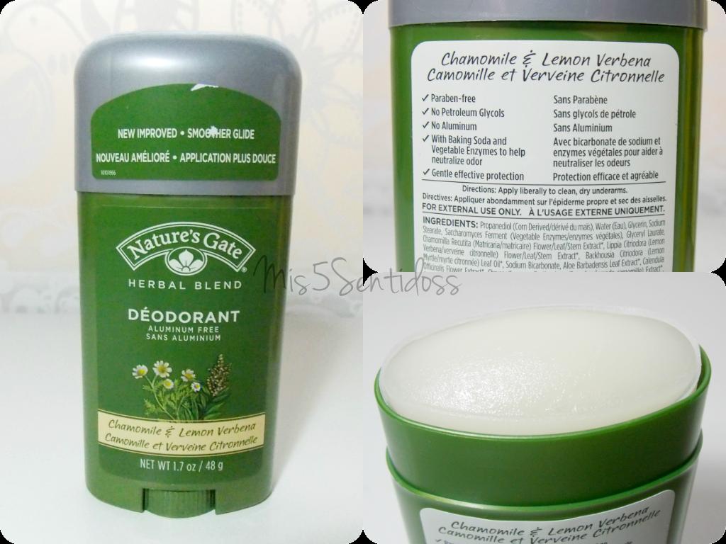 Iherb Desodorante sin aluminio, Nature´s Gate