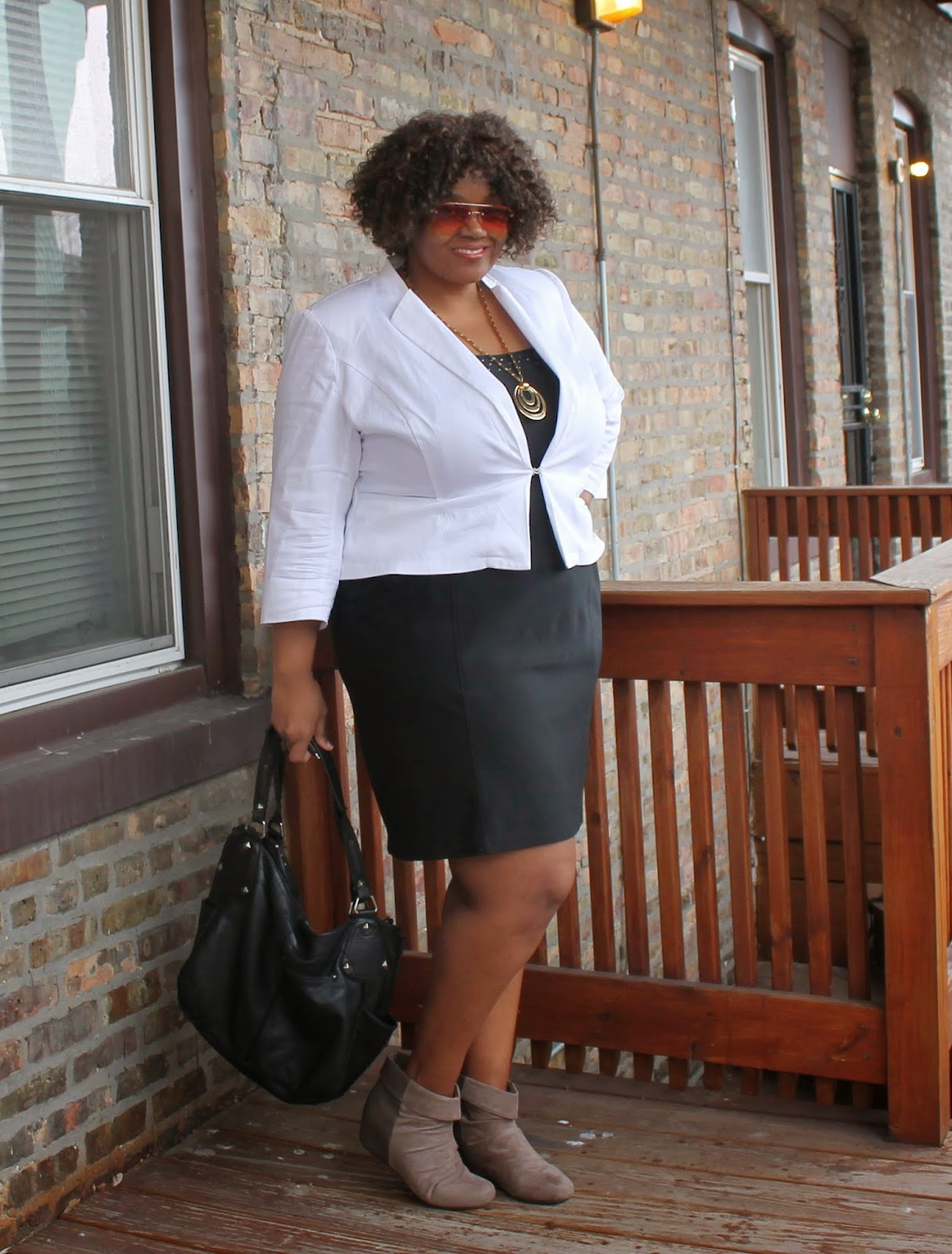 Day 13 #Rock10For30 {Fashion} Challenge | Black Dress   White ...