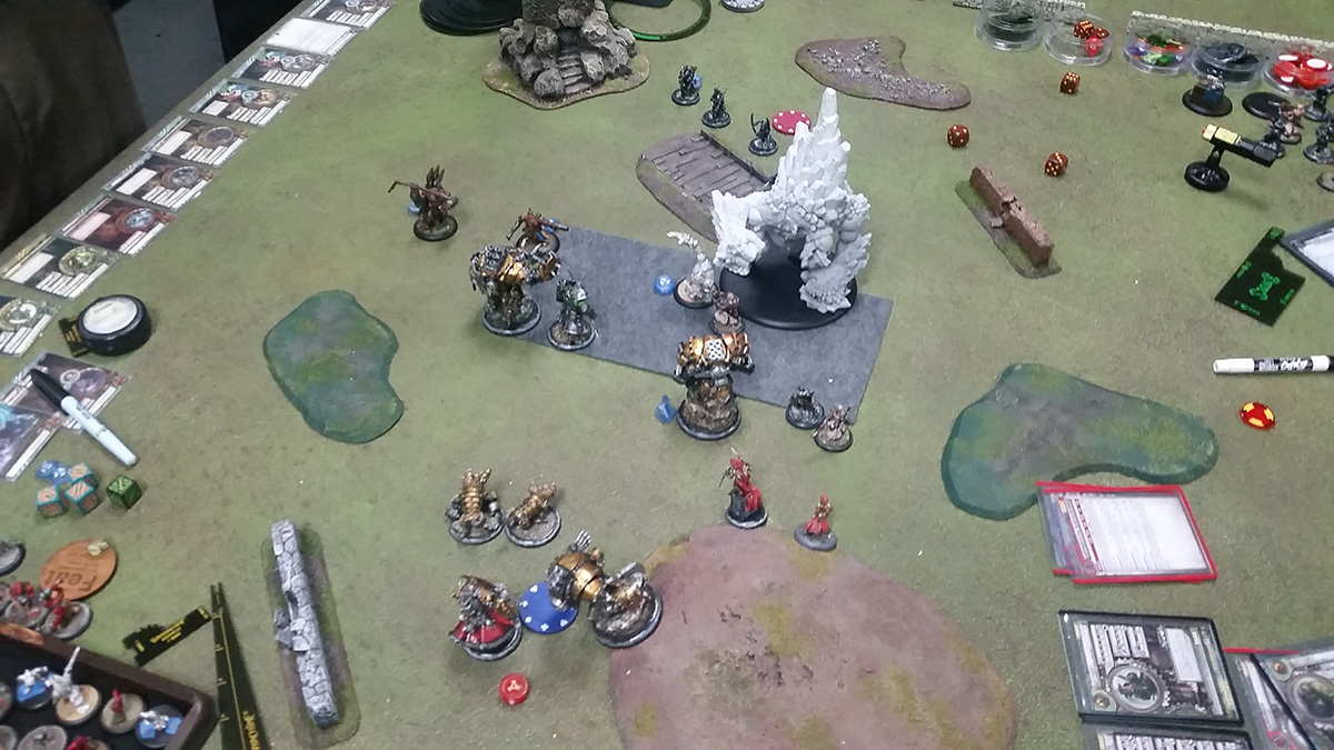 Khador vs. Trollbloods Warmachine Battle Report