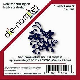 Die-Namties Hoppy flowers