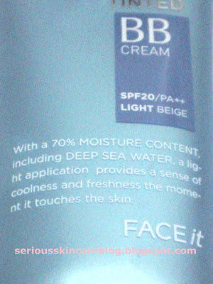 The Face Shop Face It Aqua Tinted BB Cream