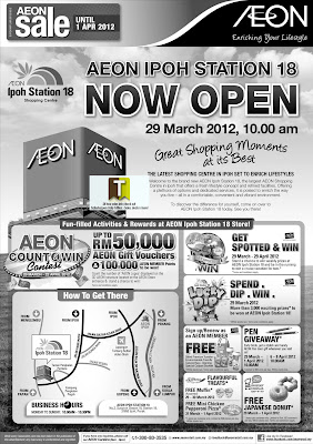 AEON IPOH STATION 18 GRAND OPENING