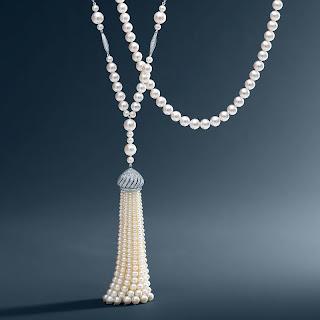 bijoux perles vintage tiffany