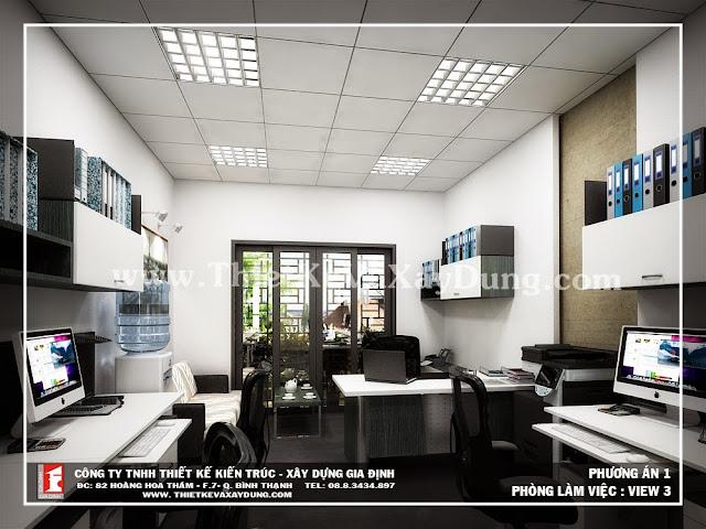 Thiết kế xây dựng, nội thất thi công nhà Anh Hà - Phú Nhuận