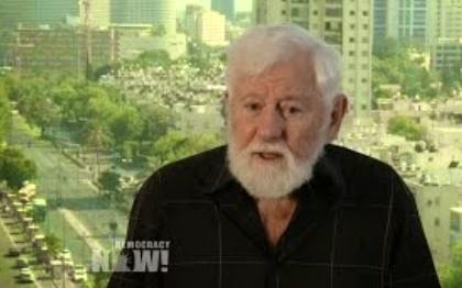 Uri Avnery. (Screen captured from YouTube video)