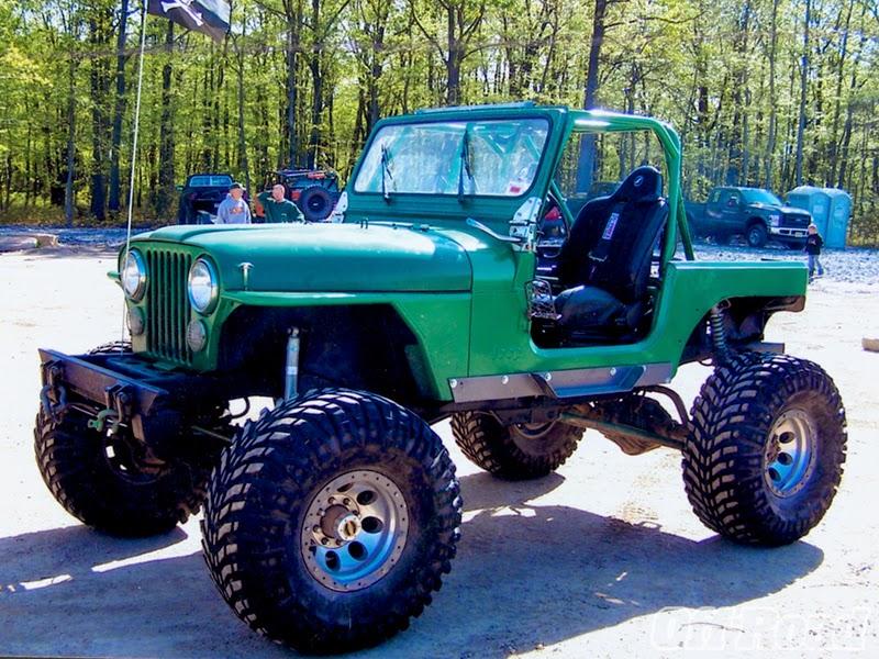 Modifikasi Mobil Jeep CJ-7 Tahun 89