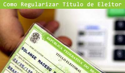 COMO REGULARIZAR TITULO DE ELEITOR - MG, SP, RJ, DF