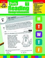 Evan-Moor Daily Reading Comprehension, Grade 1