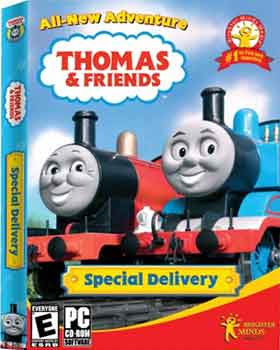 Educational software pc Thomas and Friends Special Delivery XP Windows Vista computer game for kids
