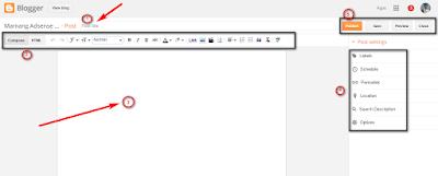 Cara posting blog super cepat