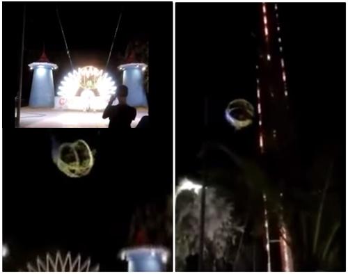 #FinalDestinatin - Video Ngeri Tali Permainan Lasak Terputus Ketika Beroperasi