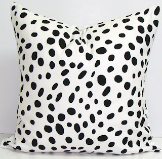 Trendspotting: Black & white spotted dalmatian print via MonicaWantsIt.com