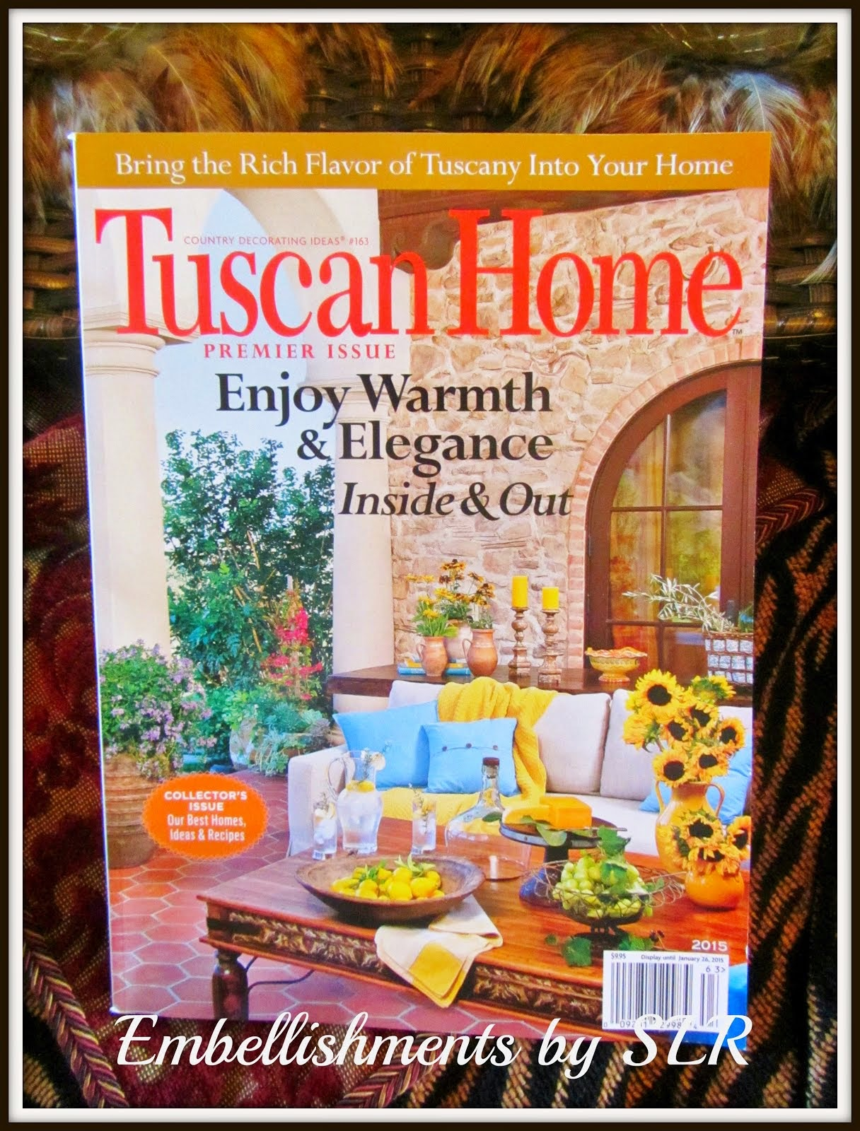 So honored to have our home featured In the premiere issue of Tuscan Home. Click to take a peek!