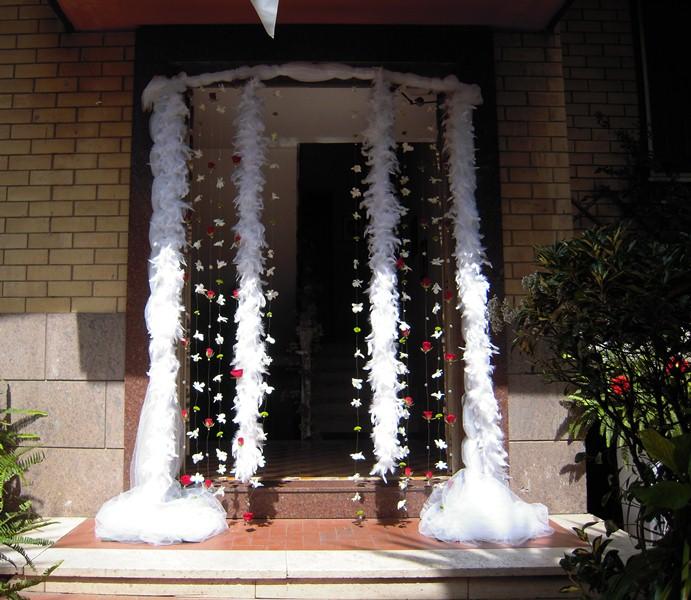 Debraflower amica degli sposi uscita della sposa - Addobbi casa sposa ...