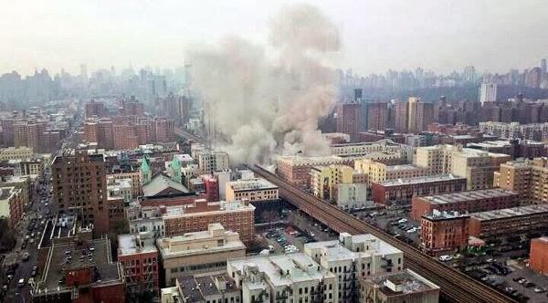Explosion edificio de Manhathan