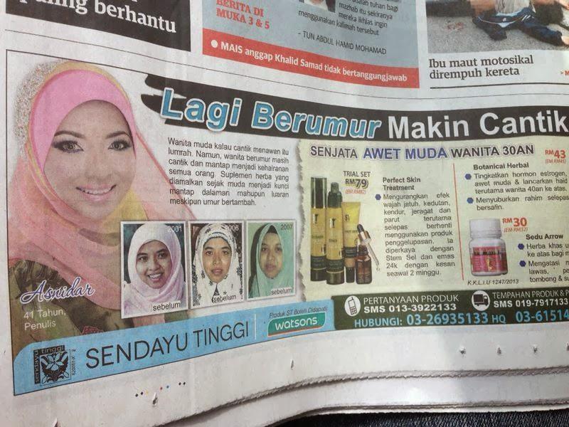 UTUSAN MALAYSIA 30/1/2014