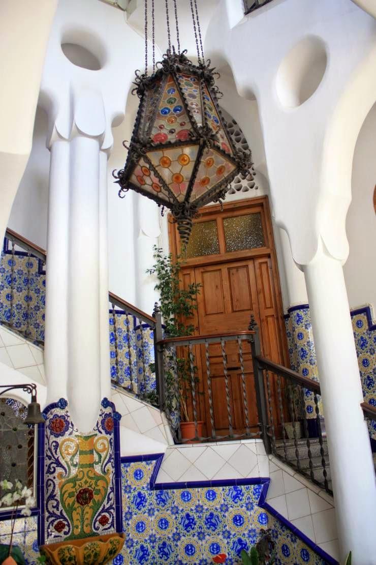 Hall of Torre Bellesguard