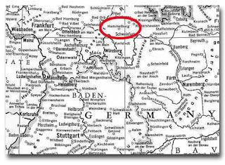 Situación de Stalag 13 en el mapa