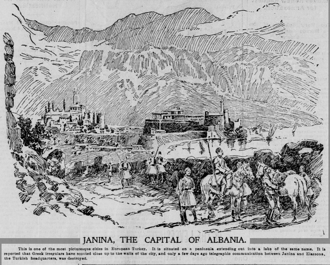 «JANINA, THE CAPITAL OF ALBANIA»