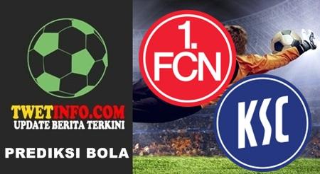 Prediksi FC Nurnberg vs Karlsruher SC