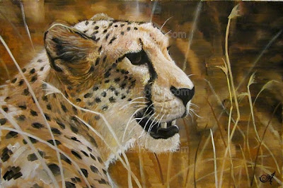 realistic paintings of animals