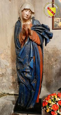 RAMBERVILLERS (88) - L'église Sainte Libaire - Mise au tombeau : Vierge