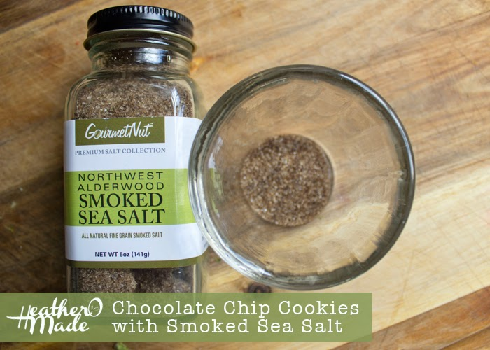 chocolate chip cookies with smoked sea salt recipe