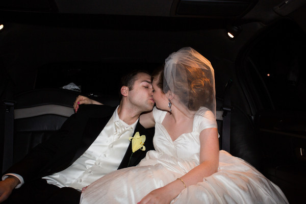 You Can Lead a Horse to Water...  :  wedding chicago recap Limo
