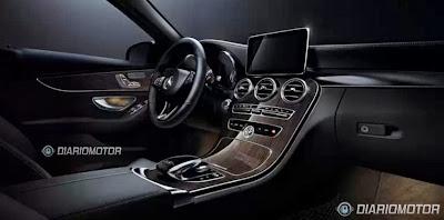 Novo Mercedes Classe C interior