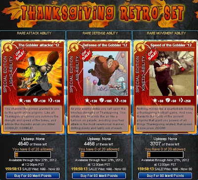 Thanksgiving Retro Set at Superhero City