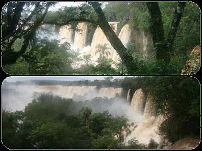 Cataratas do Iguaçu no Parque Nacional Iguazú - Argentina