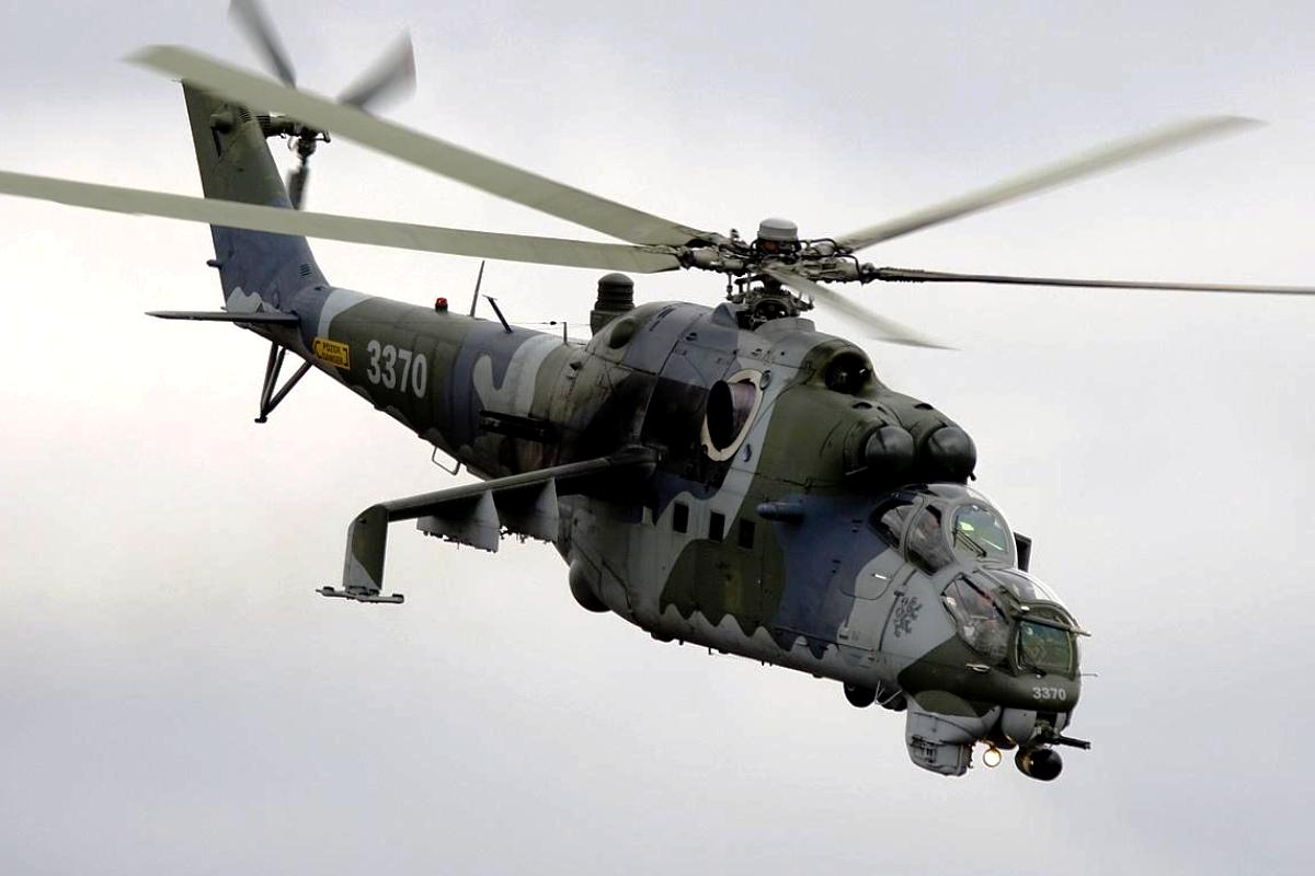 Mil Mi-35 Helicopter Attack Wallpaper 3