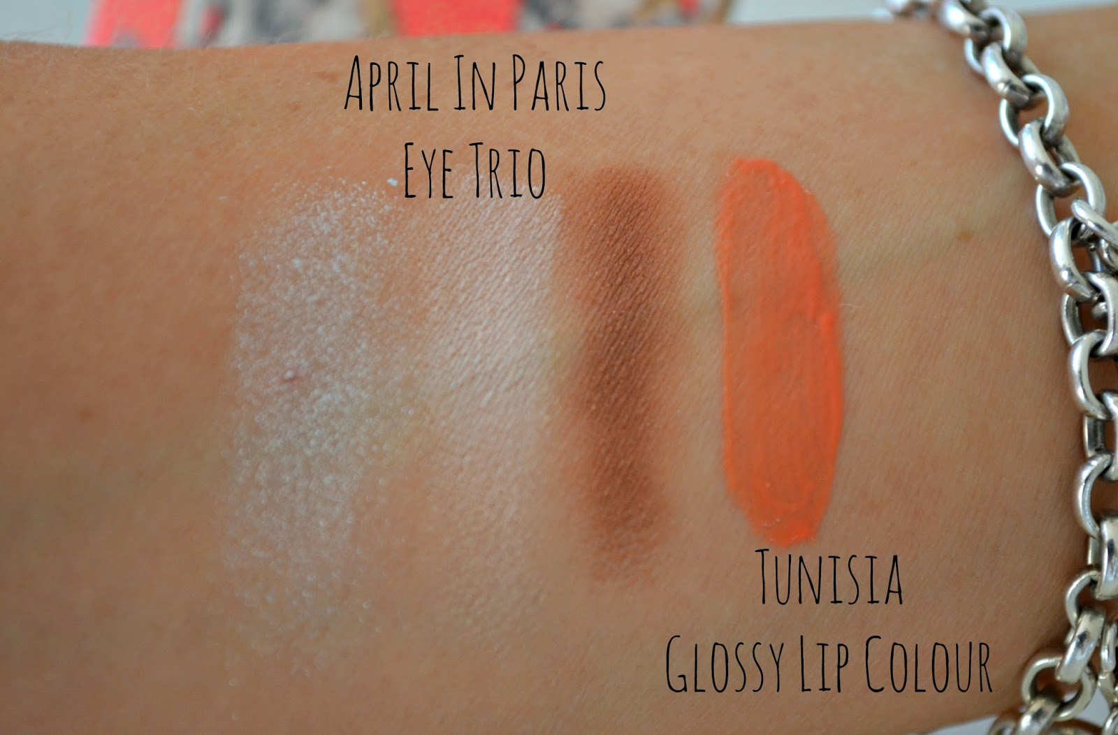 Paul and Joe eyes colour trio and glossy lip golour