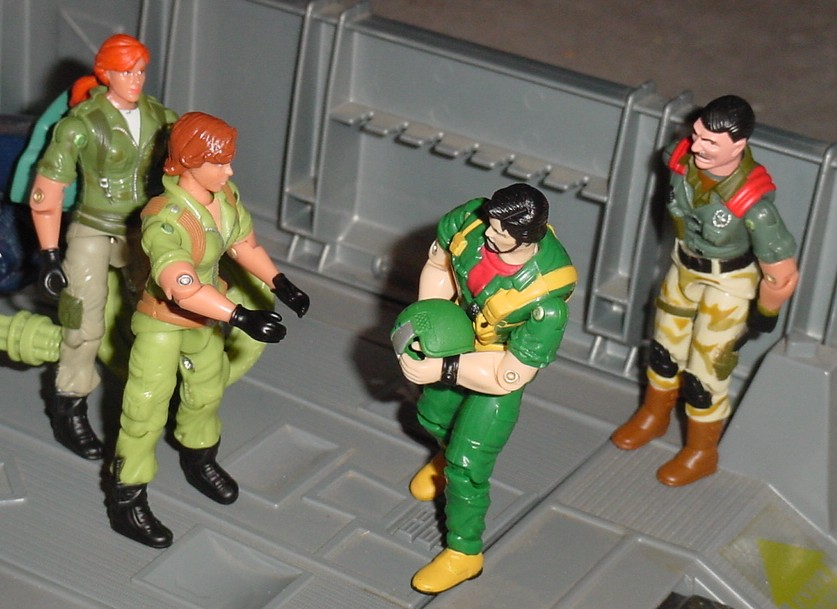 2006 Lady Jaye Comic Pack, 2004 Clutch, Anti Venom Mutt