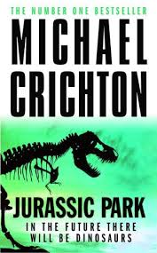 Jurrasic Park book cover