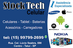 Stock Tech Cell Assistência Especializada Celulares - Tablet