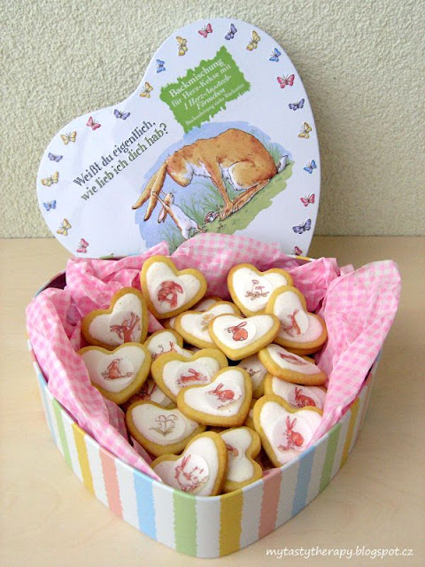 vacation memories - love heart cookies