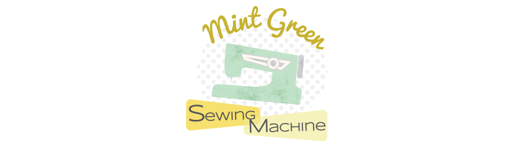 Mint Green Sewing Machine