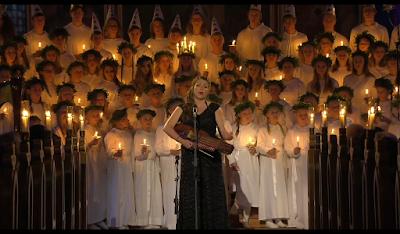 Emilia Amper, Ljus i Mörktrets Tid, Lucia Örgryte kyrka, Lucia 2015