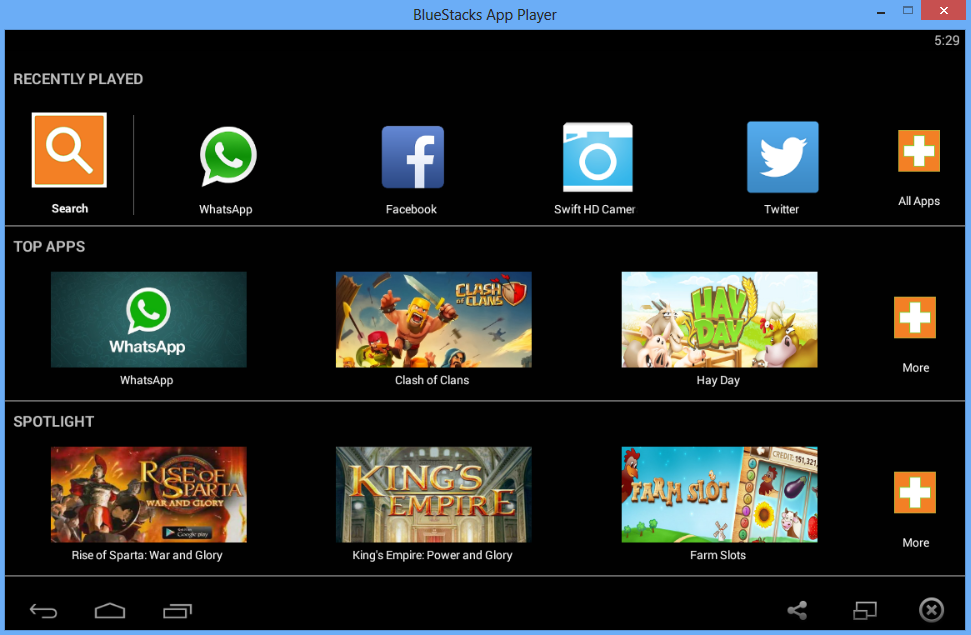 BlueStacks - Menjalankan Android di Windoe 6