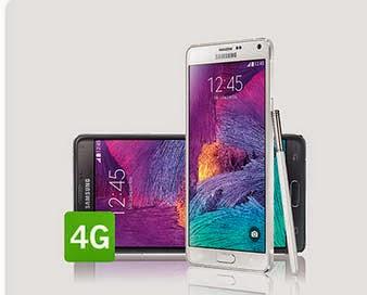 Samsung Galaxy Note 4 con YOIGO: precio, oferta, características