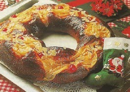 Receta Rosca Deliciosa de Navidad