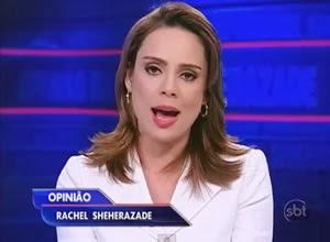 Rachel Sheherazade comenta absolvição de mensaleiros na acusação de formação de quadrilha