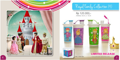 Tupperware Royal Family Collection