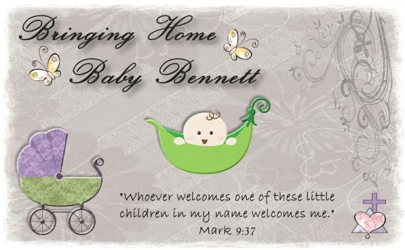 Bringing Home Baby Bennett